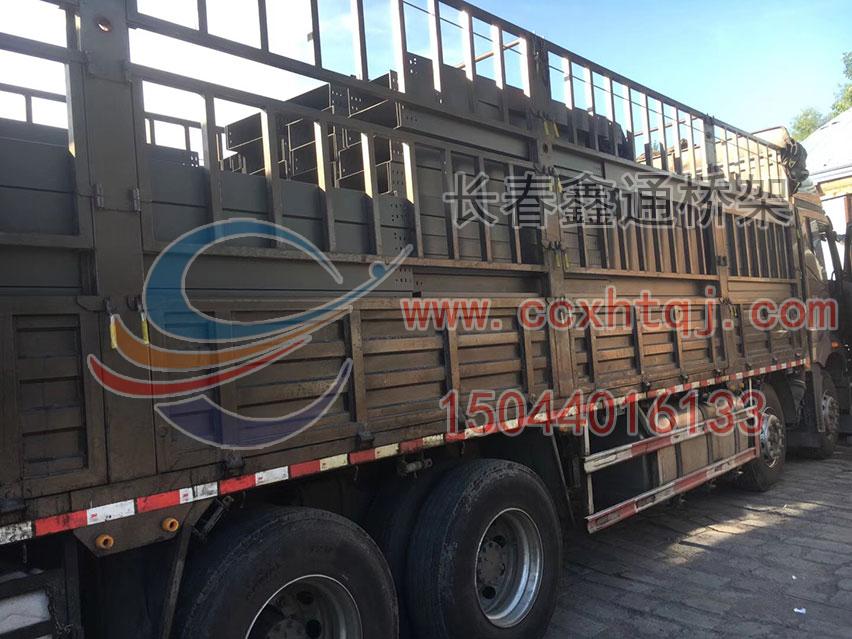 2018年6月21日防火桥架装车实