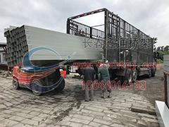 2018年7月13日4米段桥架装车实景